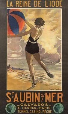 Affiche de Saint Aubin sur Mer