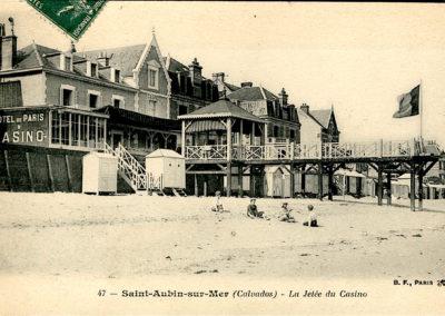 La jetée du Casino de Saint-Aubin-sur-Mer
