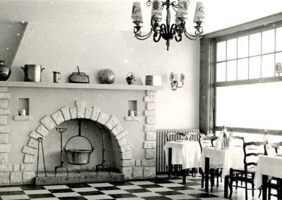 Salle restaurant du Clos Normand