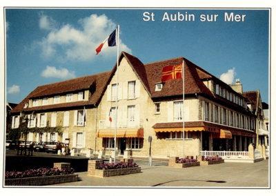 Le front de mer de Saint-Aubin-sur-Mer