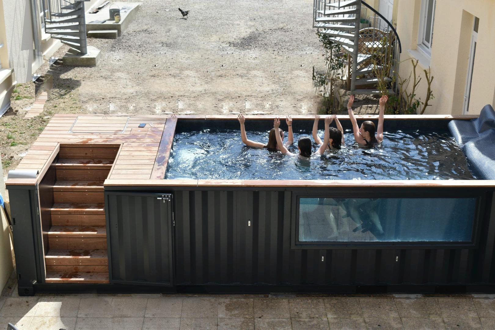 séance de piscine